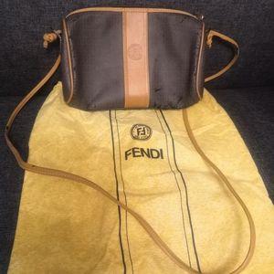 Rare Vintage Fendi Crossbody Monogram Bag